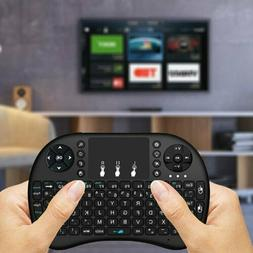 Genuine Rii i8 Mini Wireless 2.4Ghz Keyboard Backlit Fr Rasp