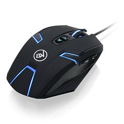 IOGEAR GME630 Kaliber Gaming SYMMETRE Ambidextrous Gaming Mo
