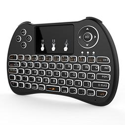OEM H9  Wireless 2.4GHz USB Mini Keyboard with Touchpad Mous