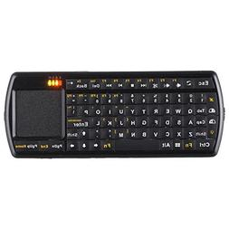 Gtide Handheld Mini 2.4G RF Wireless Backlit Keyboard with T