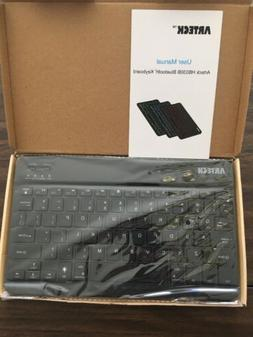Arteck HB030B Bluetooth Keyboard - New