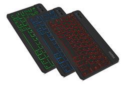 Arteck HB030B Universal Wireless Bluetooth 3.0, 7-Colors Bac