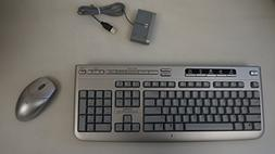HP Windows Desktop PC Wireless Keyboard and Mouse SET W/USB