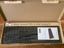 Arteck HW192 2.4G Wireless Keyboard Ultra Compact Slim Black
