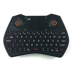 Hot!Rii i28 black 2.4G mini Wireless Touchpad Air Mouse Keyb