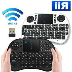 Rii i8 Mini 2.4Ghz Wireless Keyboard Touchpad For PC Smart T