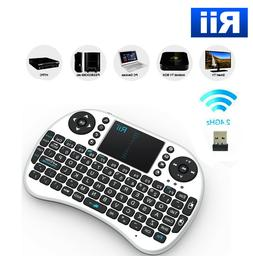 Rii i8 Bluetooth Mini Wireless Keyboard With Touchpad