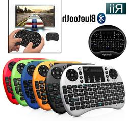 Rii i8+ BT Mini Wireless Bluetooth Backlight Touchpad Keyboa