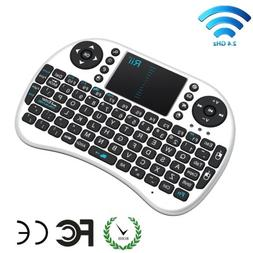 Rii i8 Mini 2.4Ghz Wireless Keyboard Touchpad For Kodi Raspb