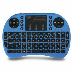 Rii I8+Mini Wireless 2.4G BackLight Keyboard-Mouse For Pc/Ma