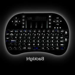 Rii i8+ Wireless Mini Keyboard Mouse Touchpad with Backlight