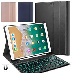"US For iPad Pro 9.7"" Slim Backlit Wireless Keyboard Case Cov"