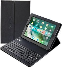 iPad Mini Keyboard + Leather Case, Alpatronix KX101 Bluetoot