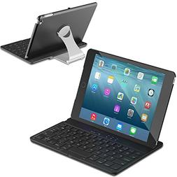 iPad Mini 4 Keyboard Case, DAXXIS Folio Style Cover with 360