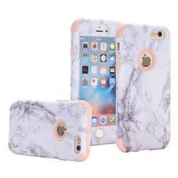 iPhone 6 Case, iPhone 6S Case, SUMOON  Hybrid Heavy Duty Thr