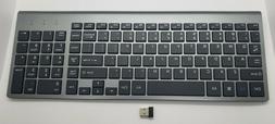 J JOYACCESS 2.4G Slim and Compact Wireless Keyboard
