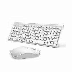 JOYACCESS Wireless Keyboard and Mouse Combo Full-size Whisper-quiet