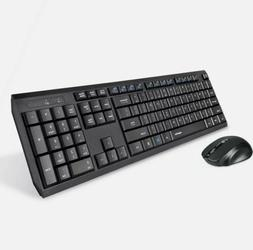 Eagletec K104 Wireless 104 Keys Keyboard and Mouse Combo for