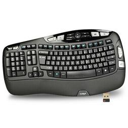 Logitech K350 102 Key Wireless USB Multimedia Wave Keyboard
