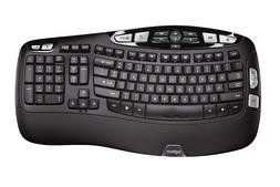 Logitech K350 2.4 Ghz Wireless Keyboard Black