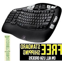 k350 wireless keyboard 2 4ghz wave ergonomic