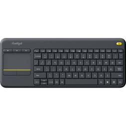 Logitech K400 Plus Wireless Touch Keyboard, Touchpad + Micro