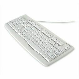 Kensington K64406US White Wired Washable Keyboard with Antim