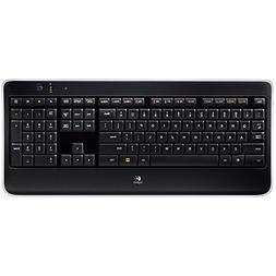 k800 wireless illuminated computer keyboard