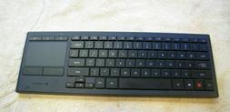 Logitech K830  Wireless Keyboard Trackpad For TV  Plus Recei