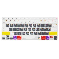 MOSISO Silicone Keyboard Cover with Pattern Compatible MacBo