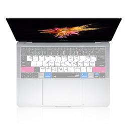 JRCMAX Keyboard Cover, Premium MAC OS English Shortcut Silic
