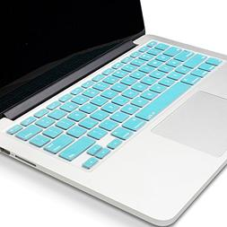 Kuzy Metallic Keyboard Cover for MacBook Pro and MacBook Air