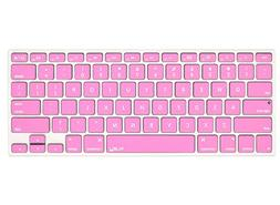 Kuzy - ROSE PINK Keyboard Cover Silicone Skin for MacBook Pr