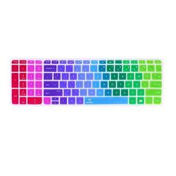 FORITO Colorful Keyboard Cover Compatible 15.6 HP Pavilion /