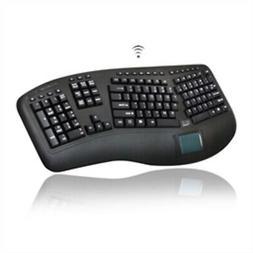 Adesso Keyboard WKB-4500UB Wireless Tru-Form Ergo Touchpad K