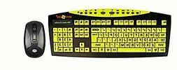 Keys U See Wireless Keyboard and Mouse