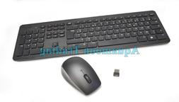 KM632 6N5WW MG-1090 French Dell Full Wireless Keyboard Mouse