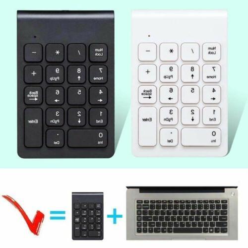 18 keys 2 4ghz wireless usb number