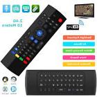 2.4G Backlit Air Mouse Wireless Keyboard Voice Input Remote