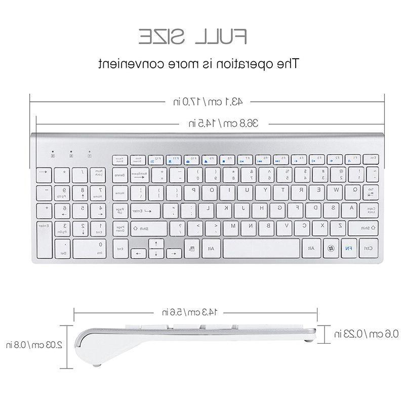 SeenDa 2.4G <font><b>Keyboard</b></font> Multimedia Full-size <font><b>Keyboard</b></font> <font><b>Combo</b></font> Laptop Desktop