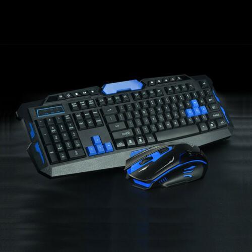 2.4G Gaming Multimedia Cordless Keyboard Wireless Optical Mo