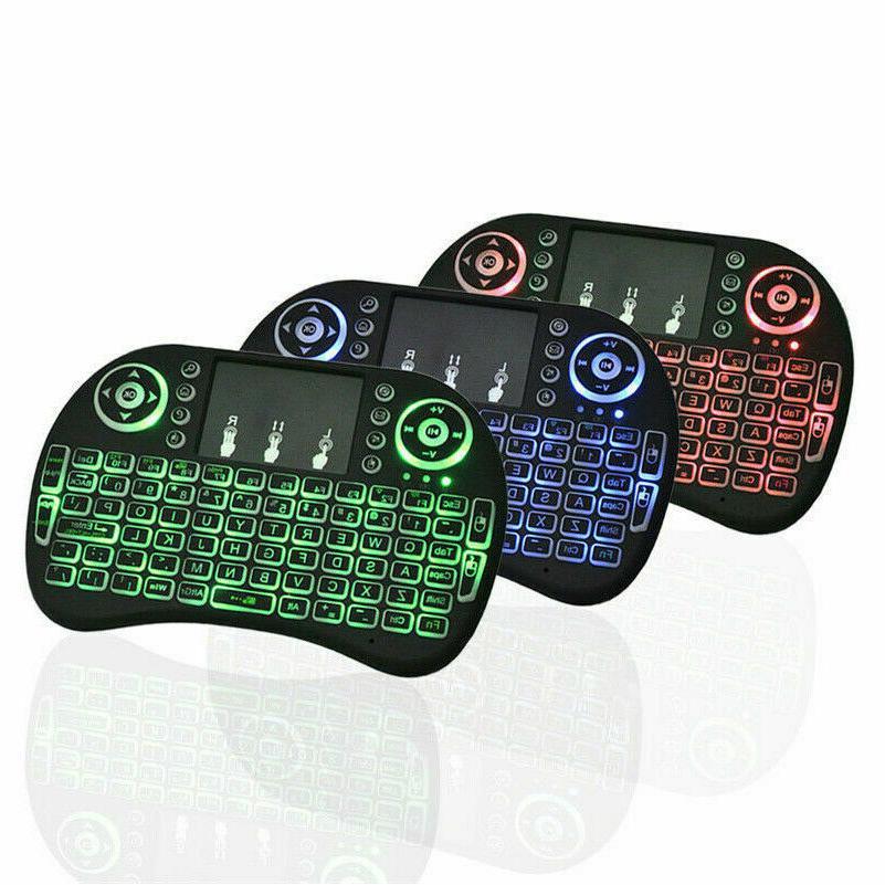 2.4G Mini Touchpad Remote Control Box PC