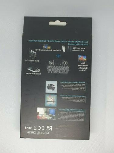 2.4G Mini Air Touchpad Keyboard i8 Remote Control Android Box