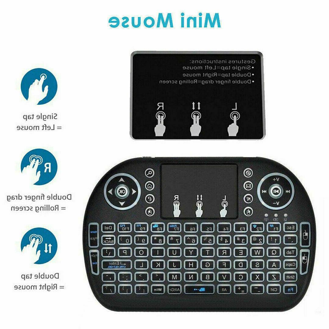 2.4G Touchpad Pro Remote Control Box