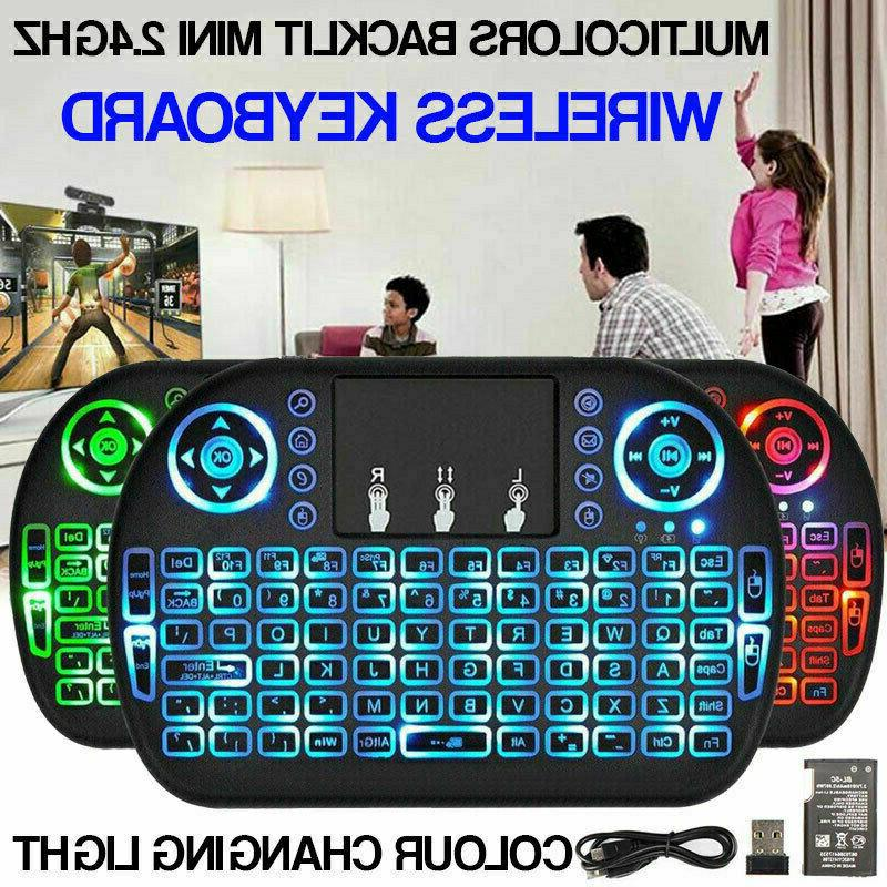 2 4g mini wireless air touchpad keyboard