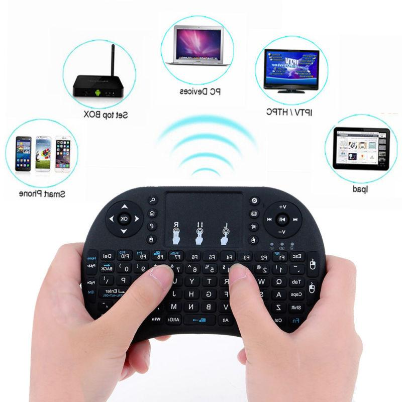 2.4G Mini Fly Air Keyboard Touchpad For Android Smart