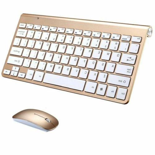 2 4g mini wireless keyboard mouse combo