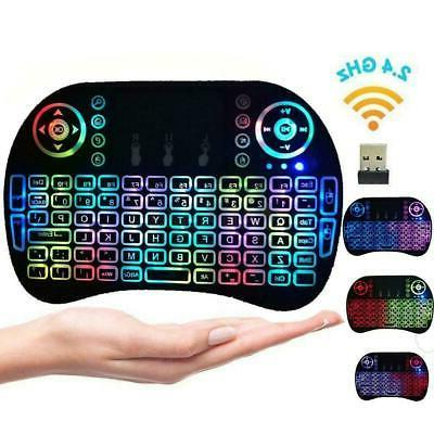 2 4g mini wireless keyboard remote controls