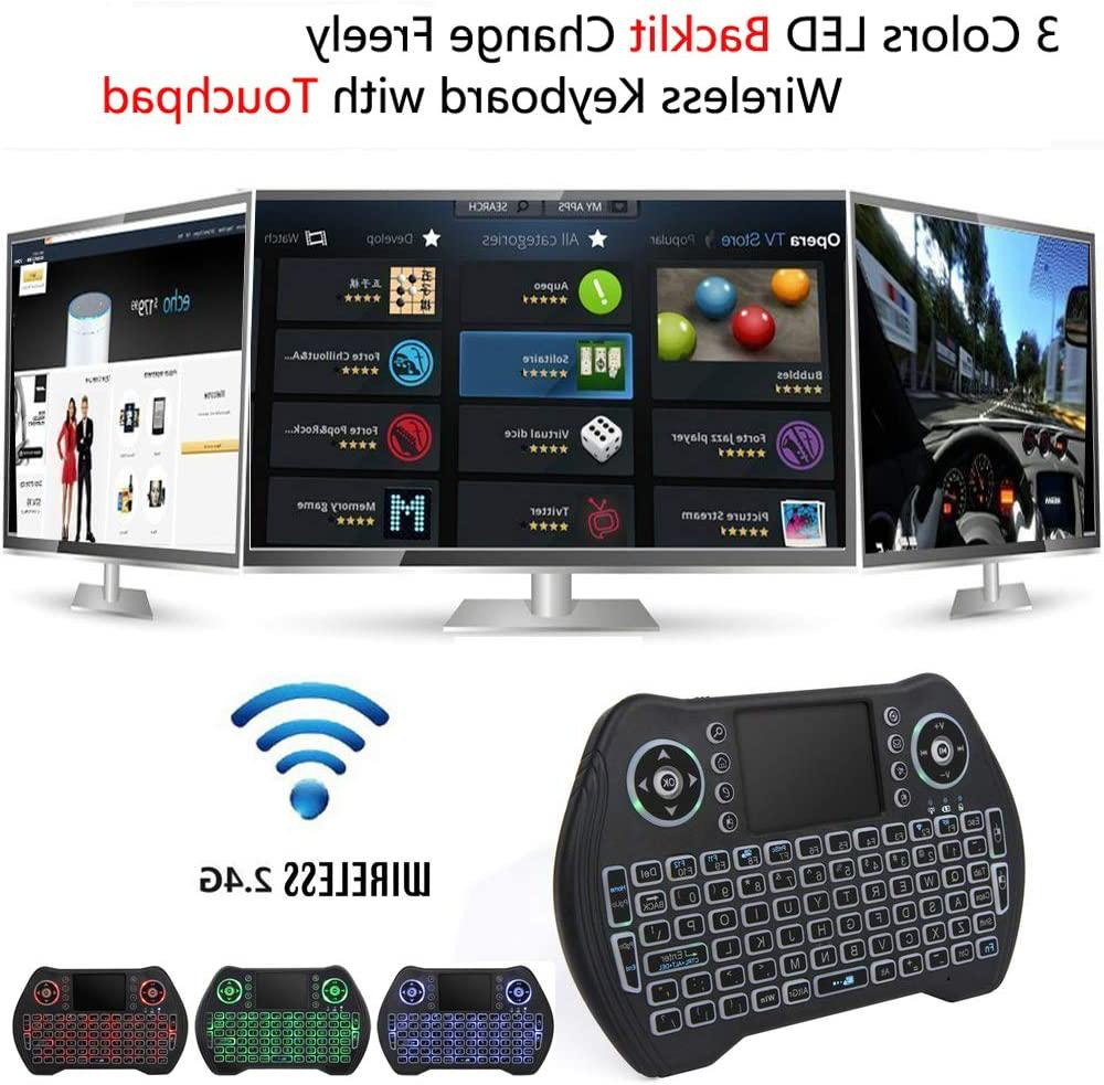 2 4G Keyboard Touchpad Mouse for TV iMac US