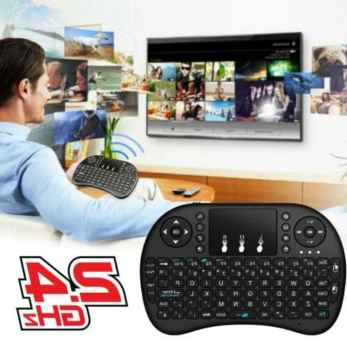 2.4G Mini Keyboard With Mouse Android Smart TV Box PC